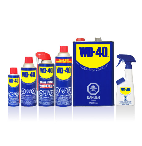 WD 40 Product Packaging