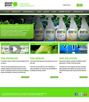 USM Cleaning website
