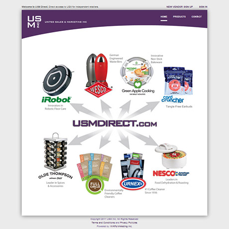 USM Direct website